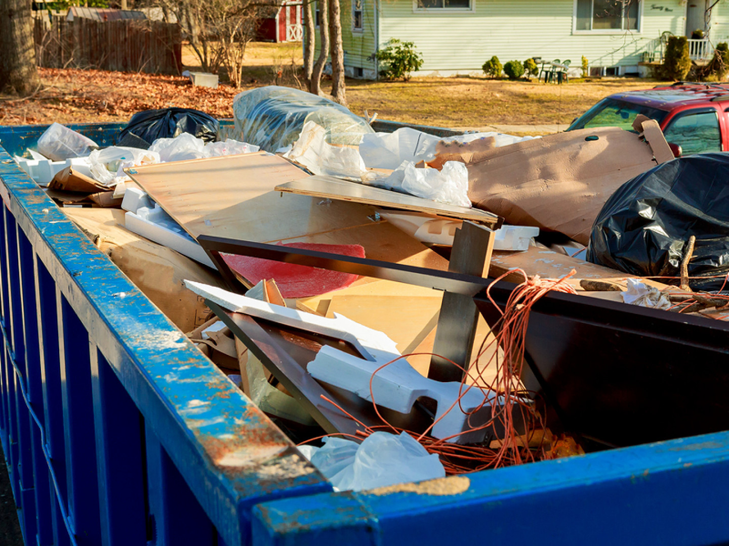 Dispose of junk and waste safely